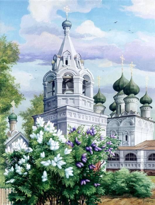 Открытки с соборами и церквями