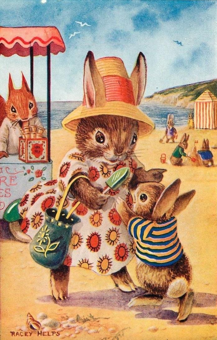 Купить картину по номерам Крольчиха с крольченком (RDG ...