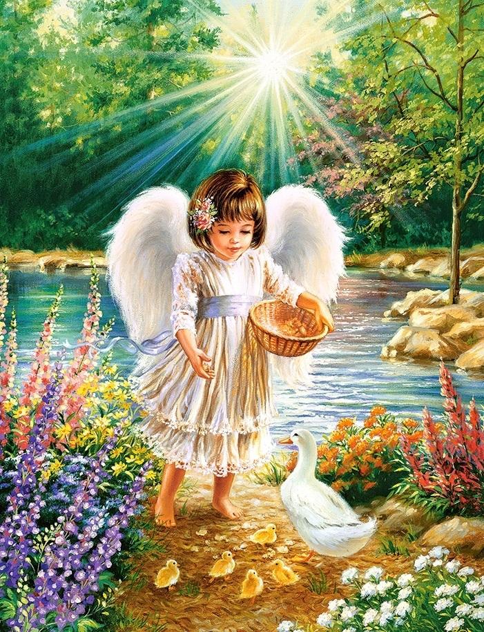картинки самая нежная ангелы