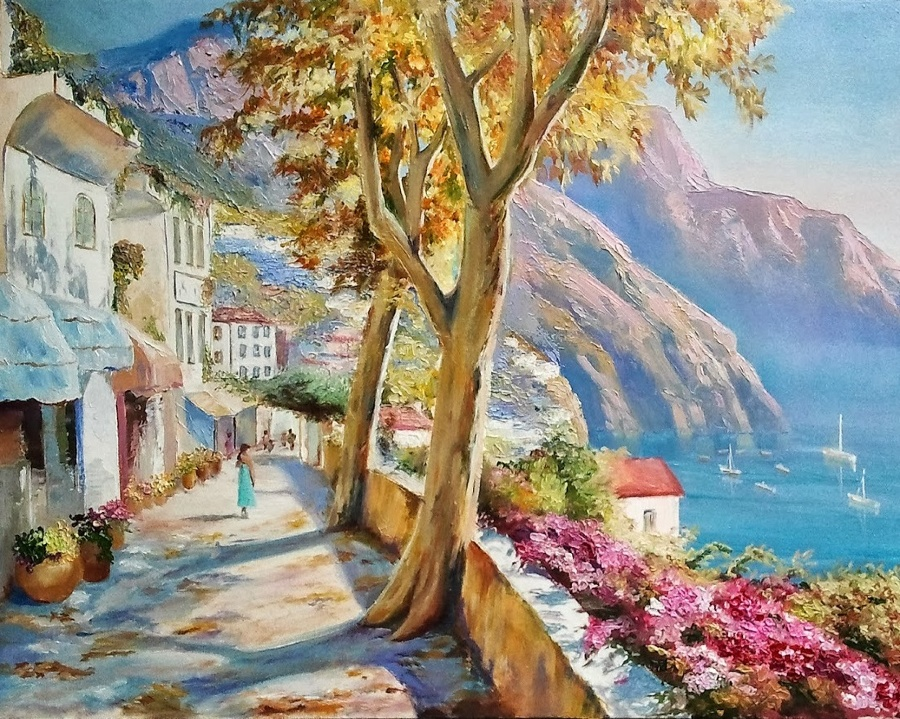 открытки крымские пейзажи чему снится