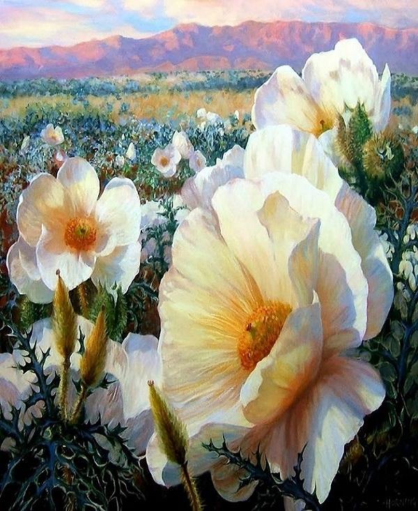 Купить картину по номерам Цветочное поле (RDG-2082 ...