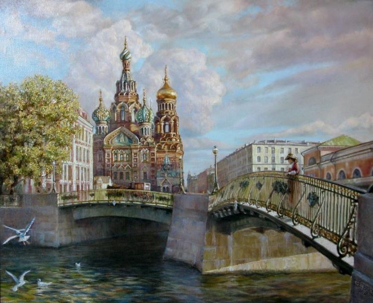 Купить картину по номерам Собор Василия Блаженного (GX5439 ...